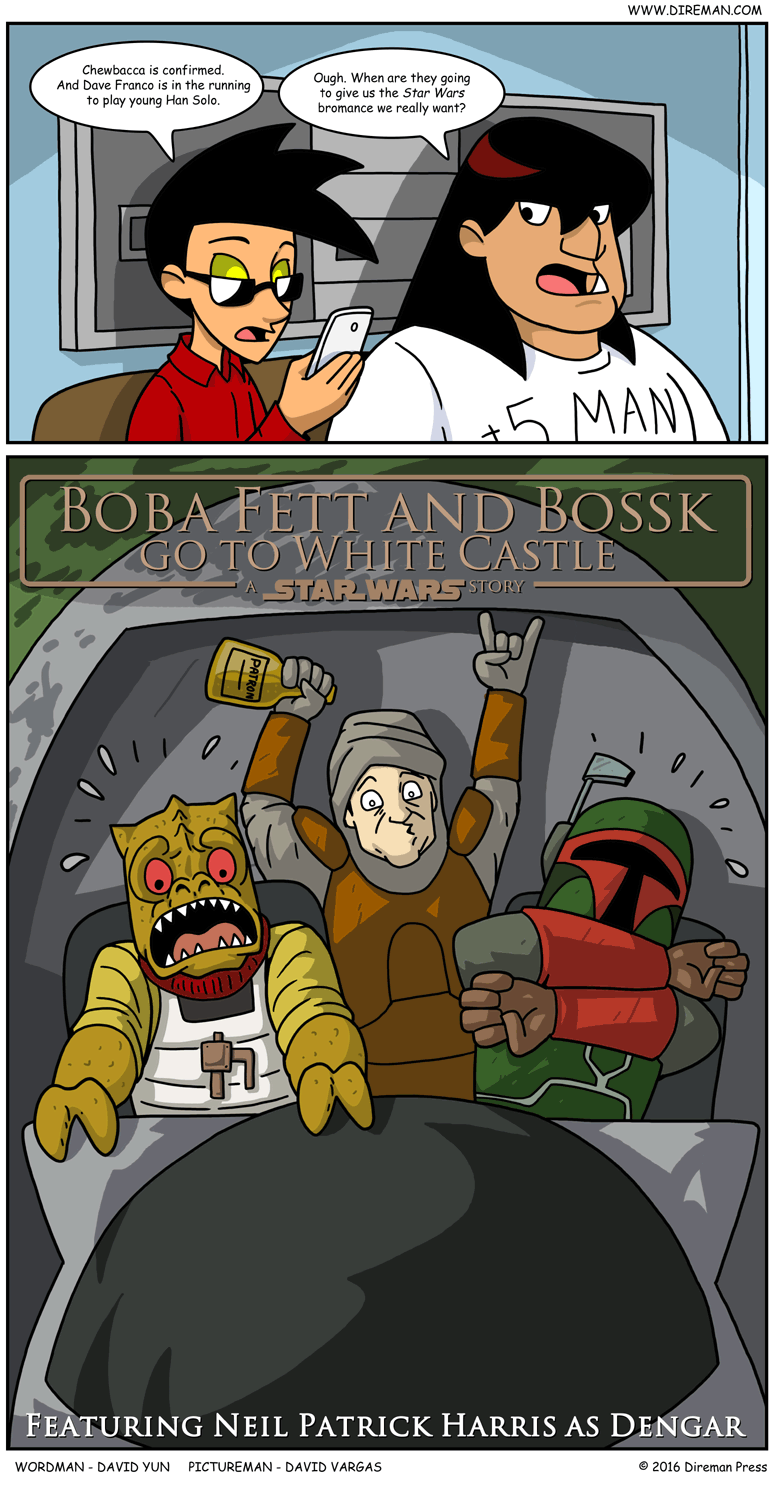 Boba Fett and Bossk: A Star Wars Story