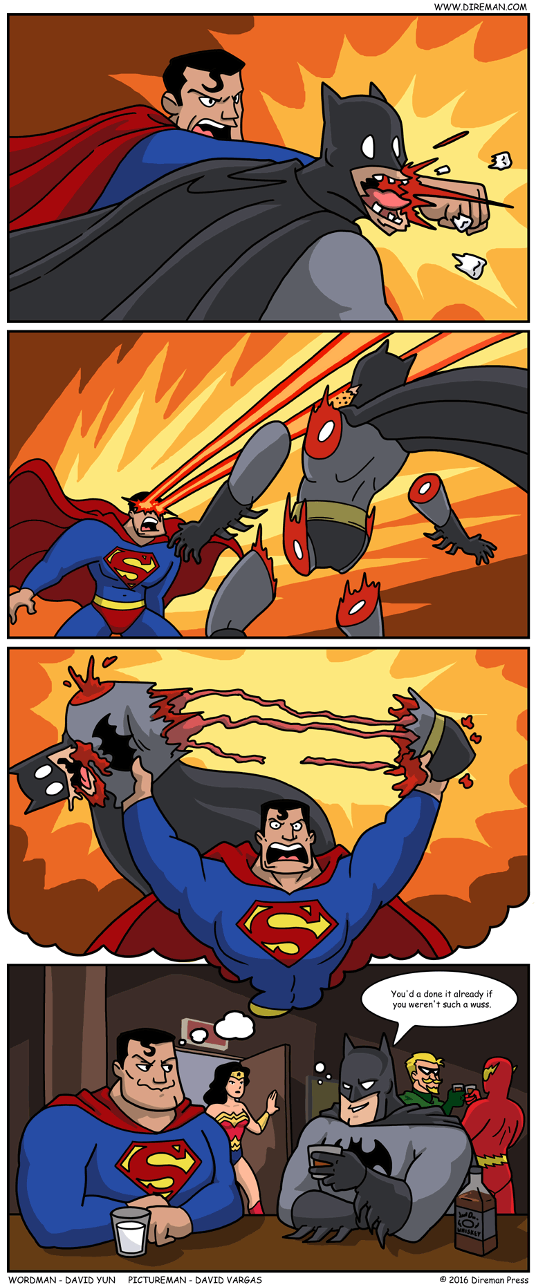 Superman v. Batman