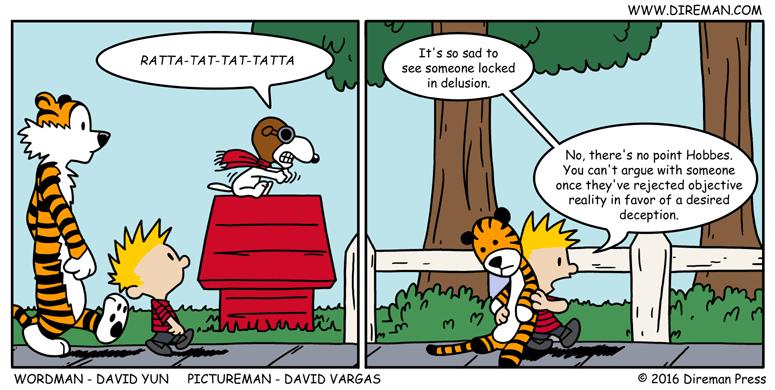 Comic Strip Delusions