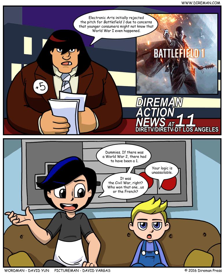 Battlefield 1 World War I Ignorance