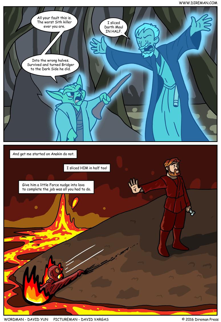 Star Wars Obi-Wan Worst Sith Killer