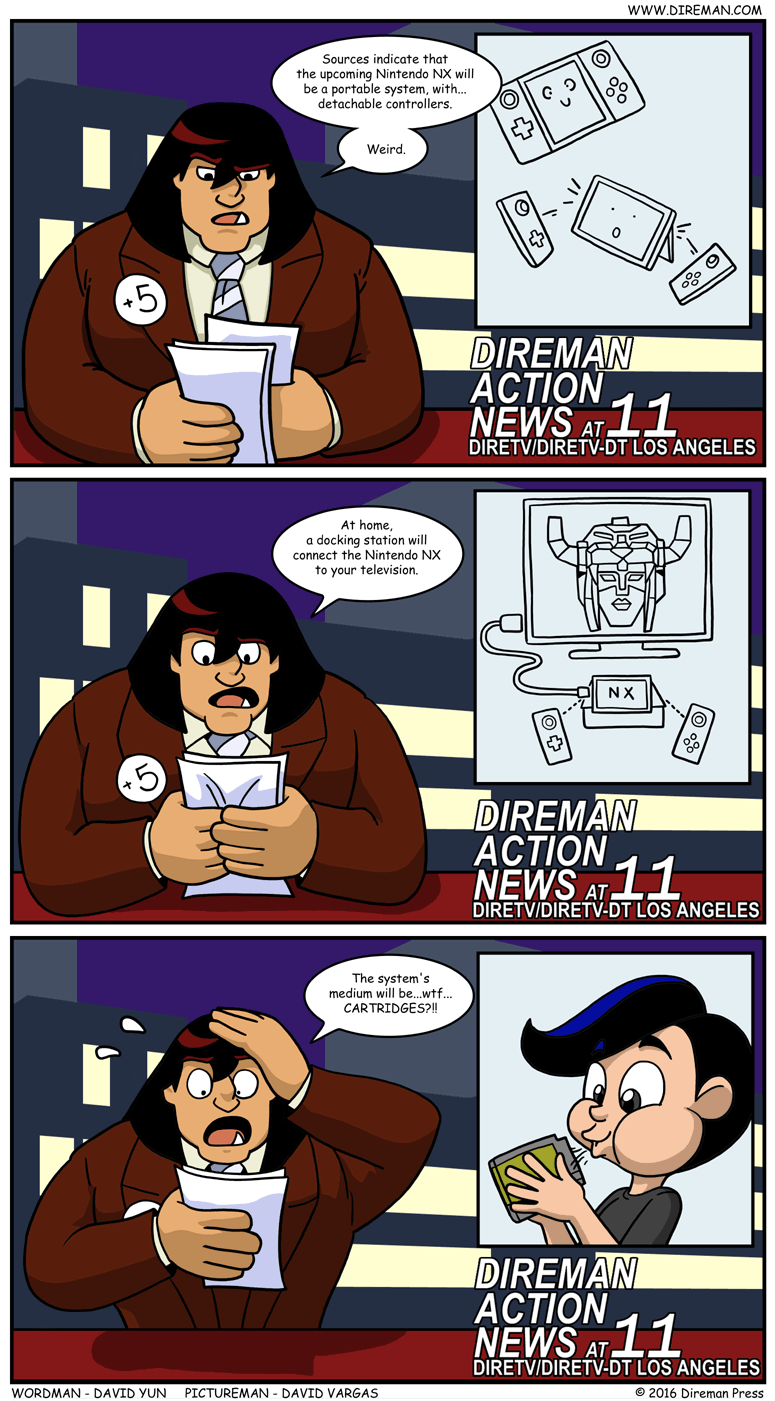 Nintendo NX rumors