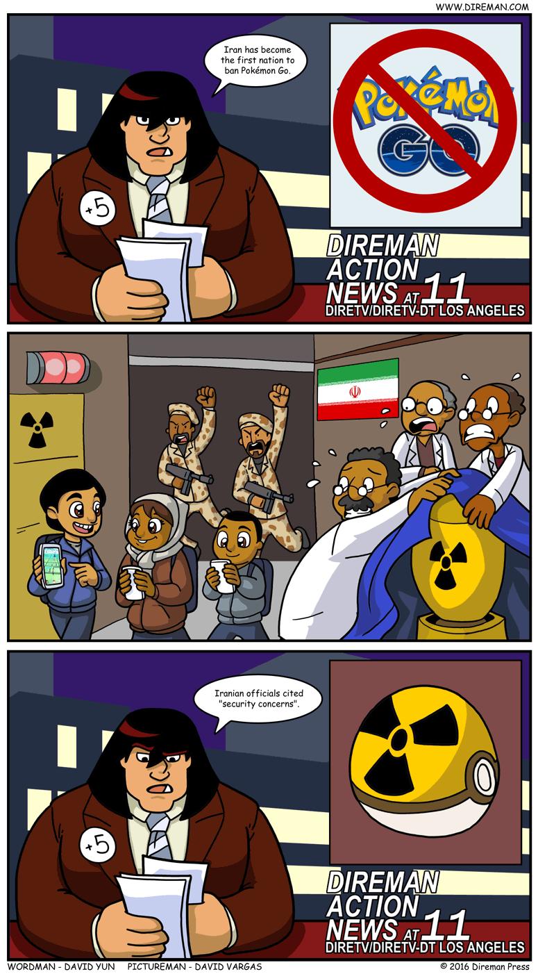 Iran Pokemon Go Ban
