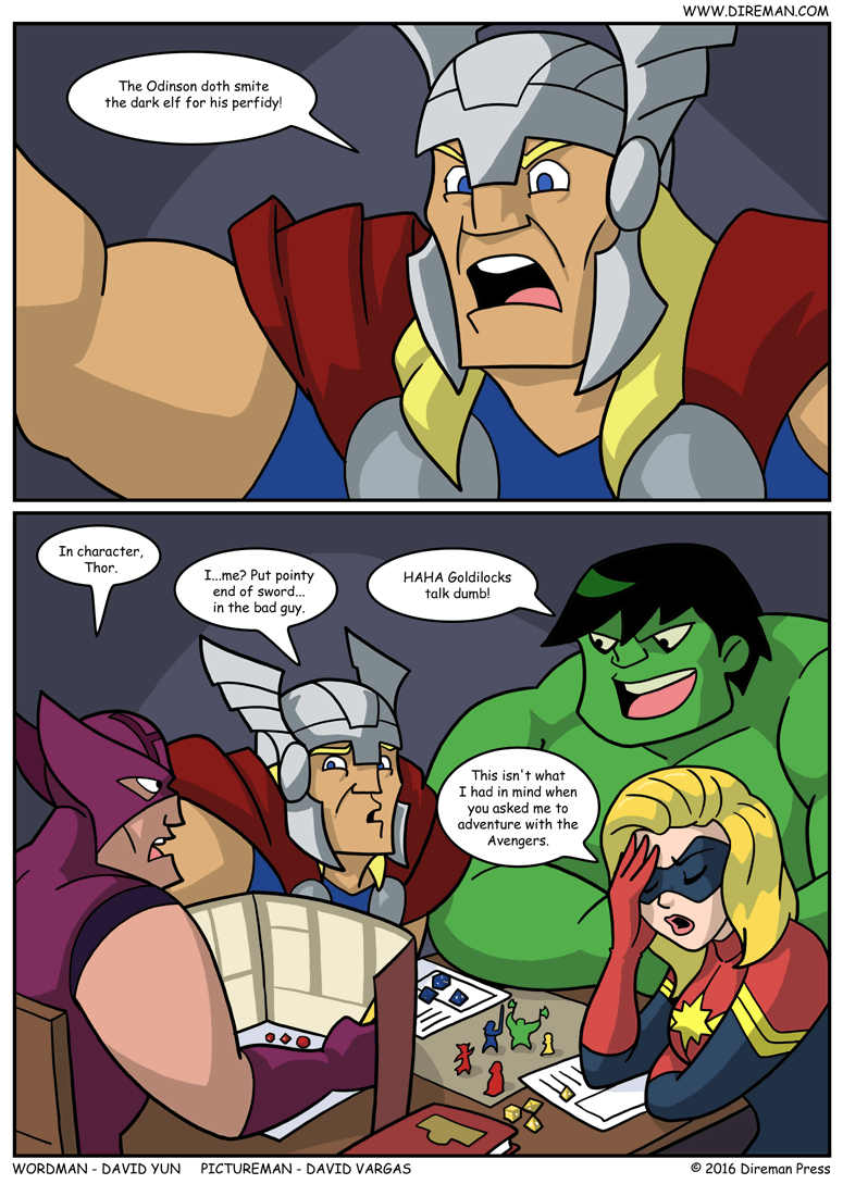 In Character, Thor