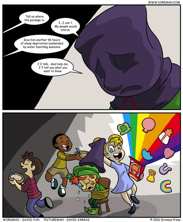Enhanced Interrogation Leprachaun