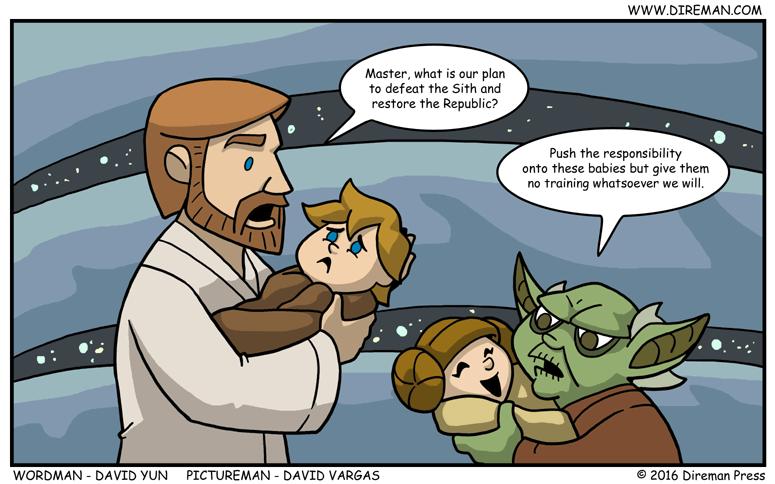 Jedi Master Plan
