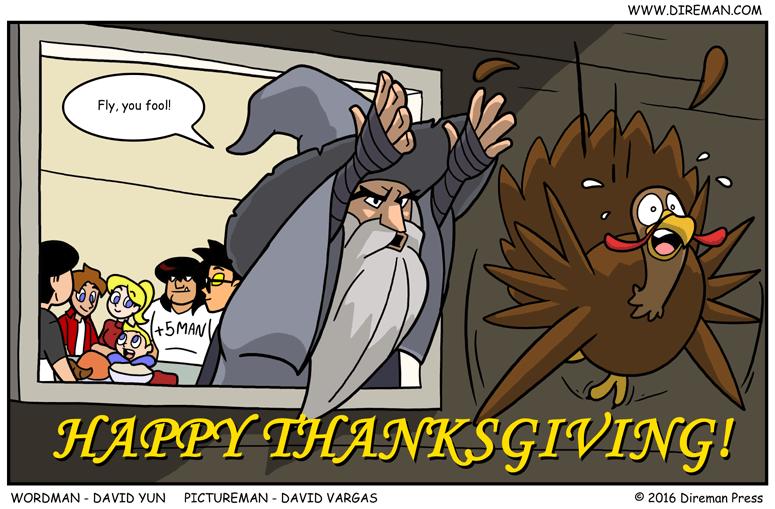 Happy Thanksgiving Gandalf