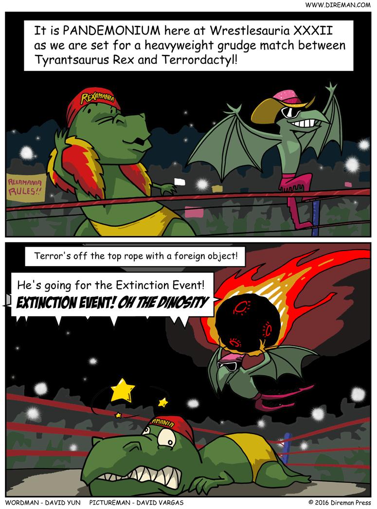 Wrestlesauria XXXII