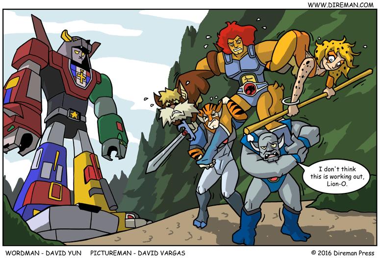 Voltron Thundercats