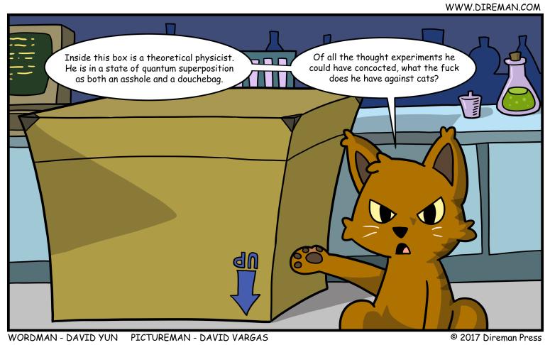 Cat's Schrodinger