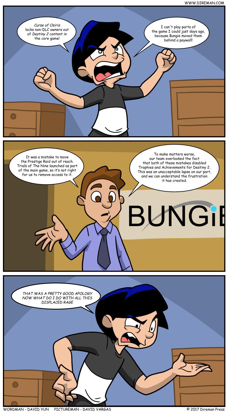 More Destiny 2 Anger