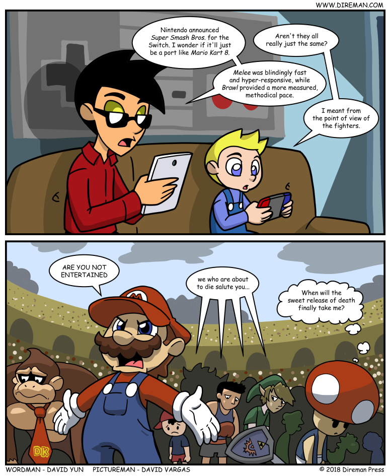 Smash Bros Switch