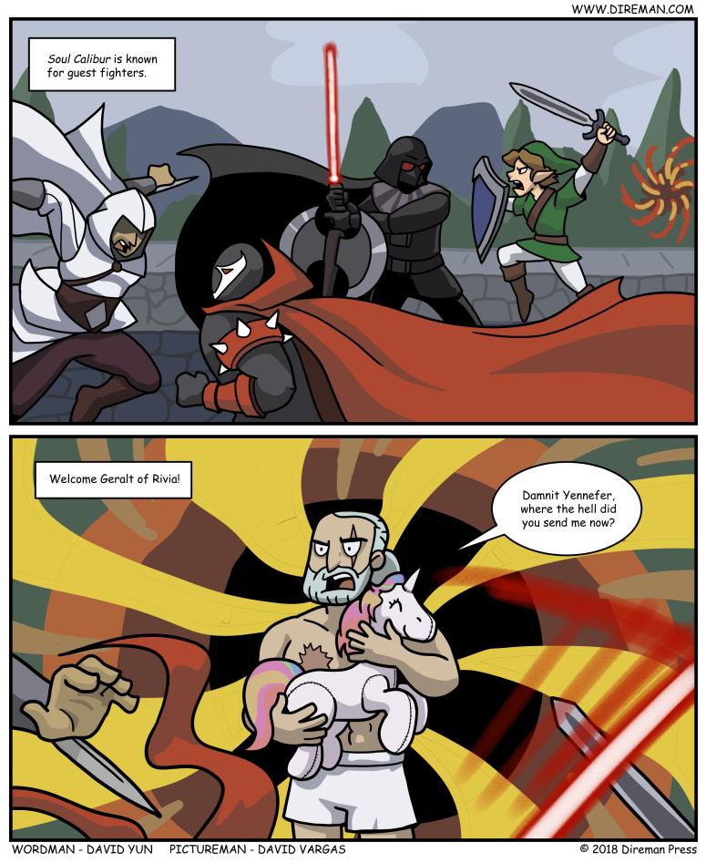 Witcher Soul Calibur