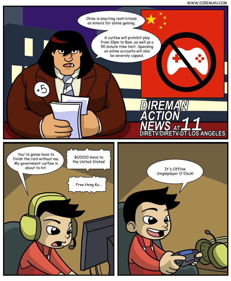 Online Curfew
