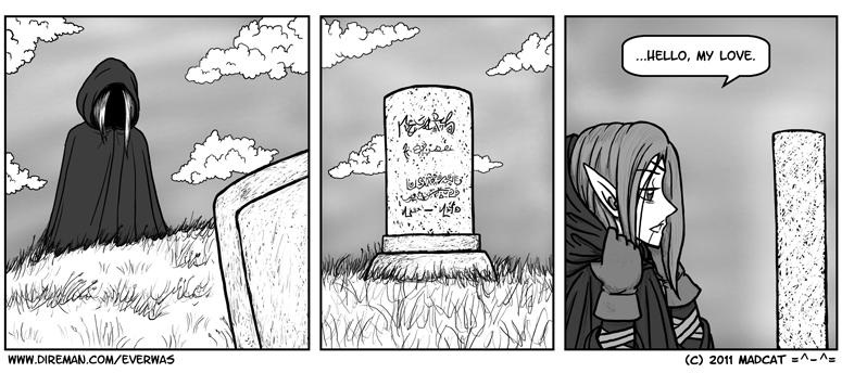 Graveside Visit