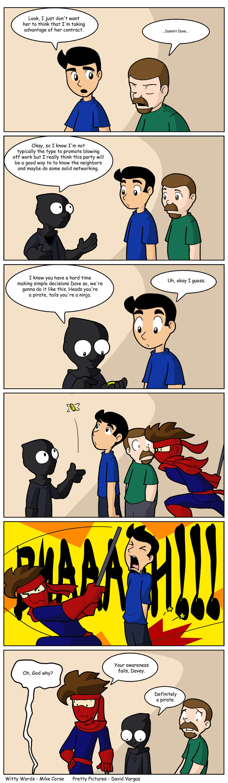 Failed Ninja School
