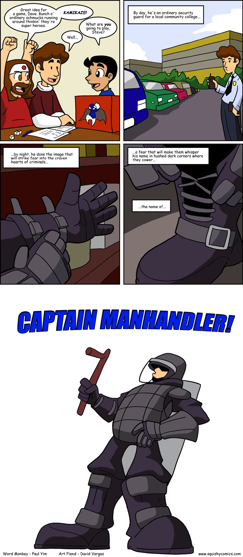 Captain Manhandler